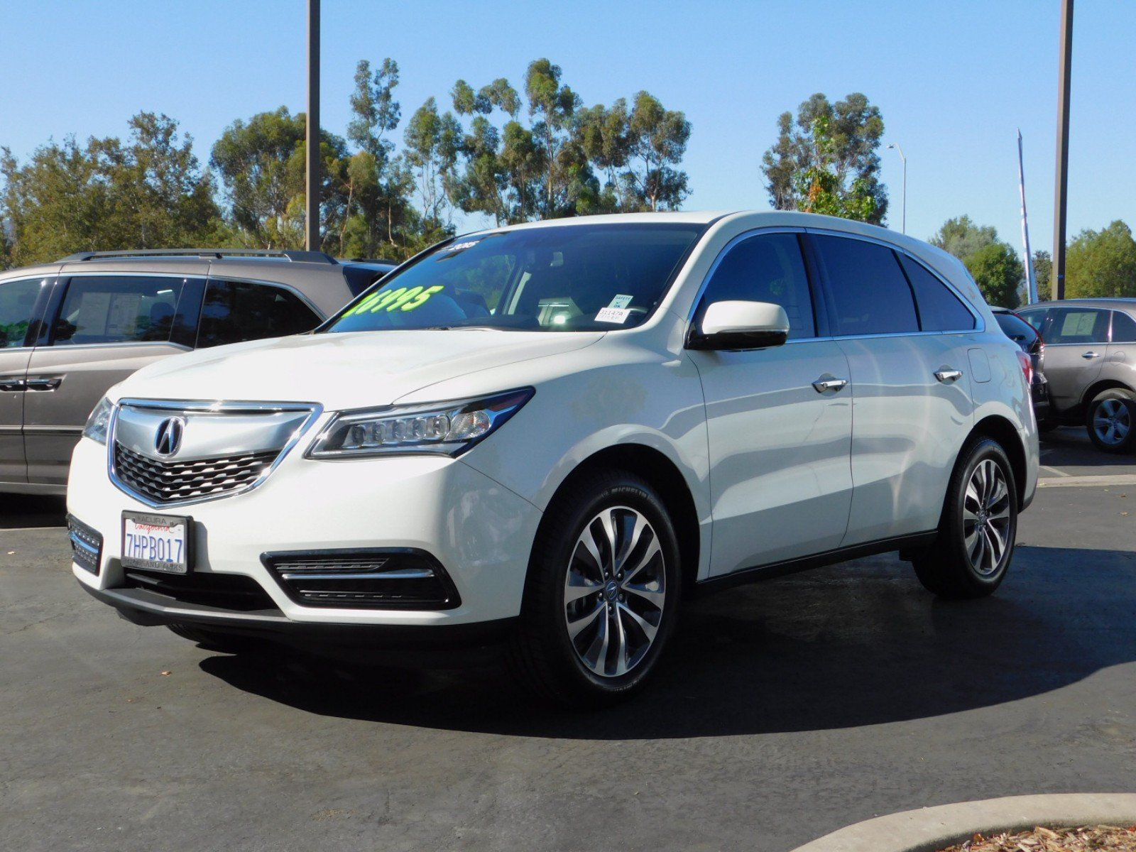 Certified Pre Owned 2015 Acura MDX with Technology Package Sport