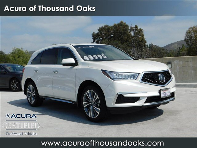 Certified Pre Owned 2017 Acura Mdx With Technology Package Sport