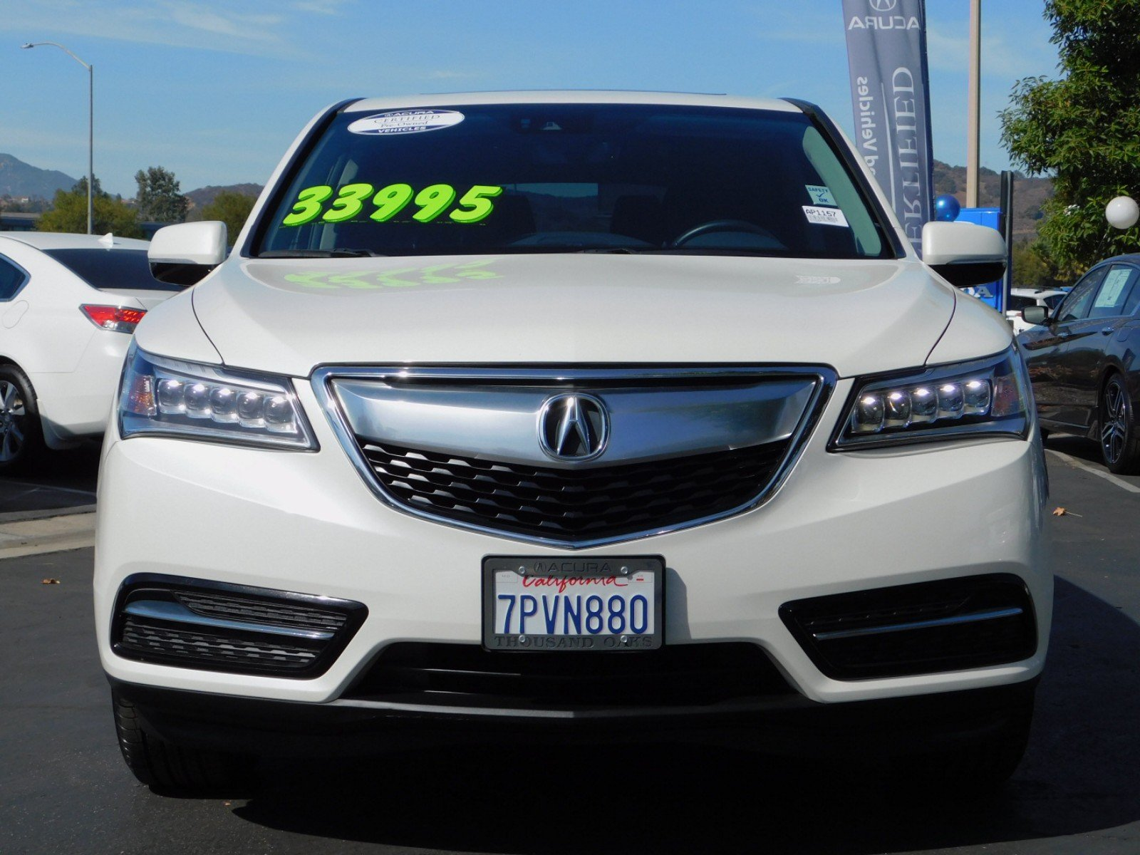 Certified Pre Owned 2016 Acura MDX with Technology and Entertainment