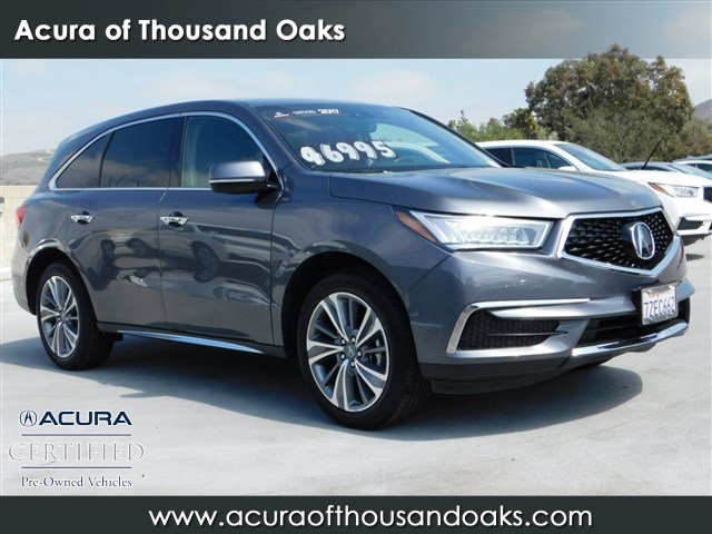 Certified PreOwned Acura MDX SHAWD With Technology Package - Pre own acura