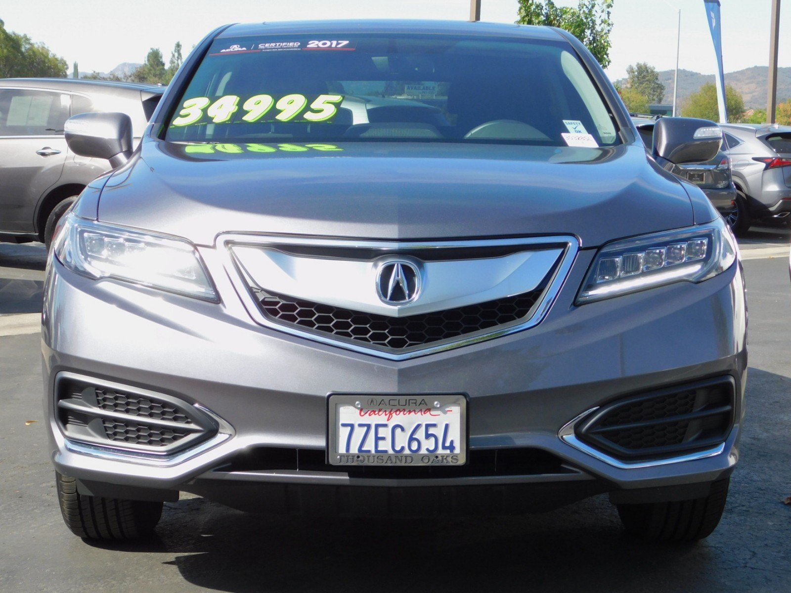 Certified Pre Owned 2017 Acura RDX with Technology Package Sport