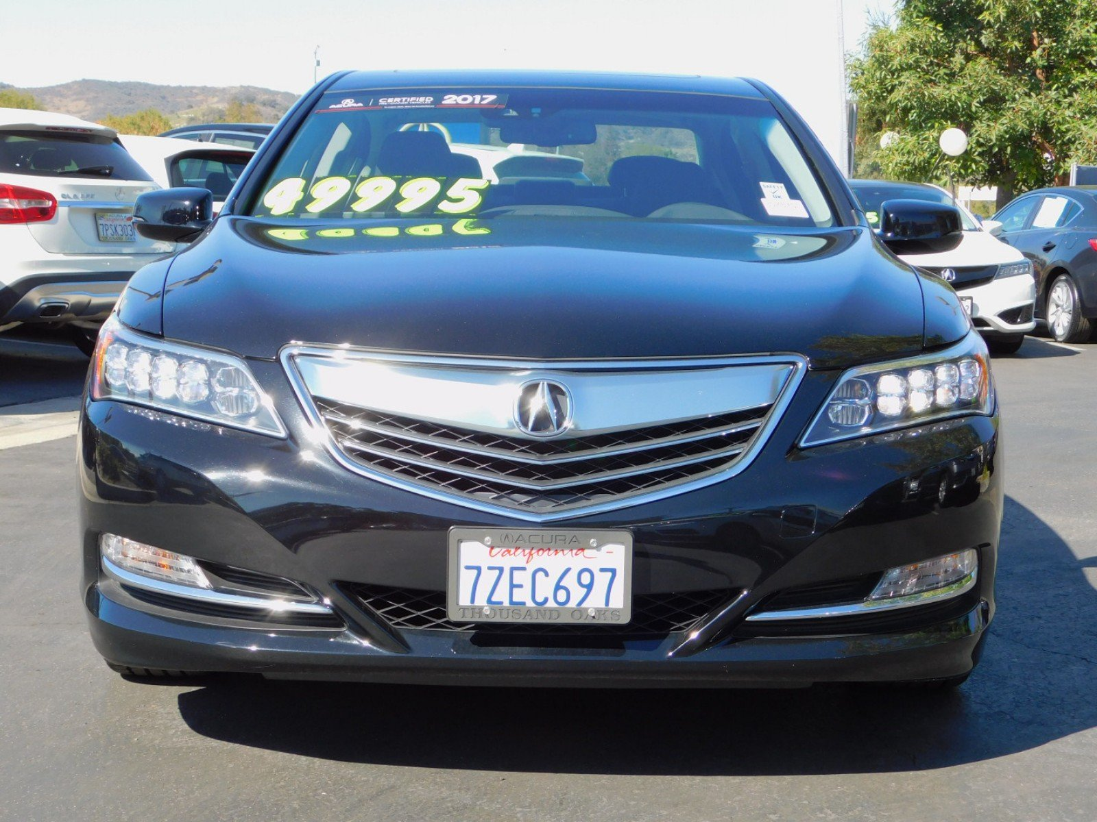 Certified Pre Owned 2017 Acura RLX with Technology Package 4dr Car