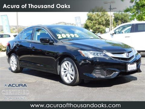 Certified Pre Owned 2016 Acura ILX Base
